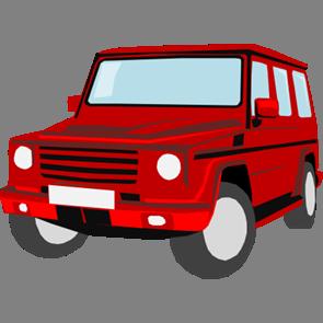 乗り物素材自動車036