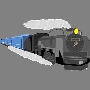 乗り物素材電車001