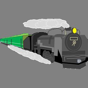 乗り物素材電車002