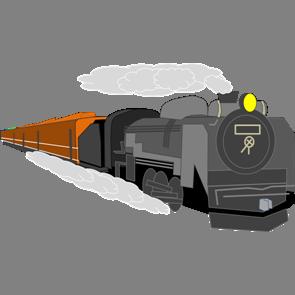 乗り物素材電車003