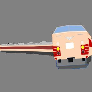 乗り物素材電車004