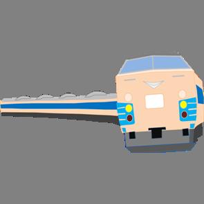 乗り物素材電車005