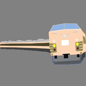 乗り物素材電車006