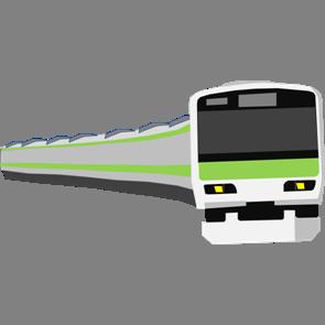 乗り物素材電車007