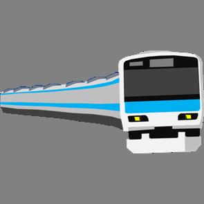 乗り物素材電車008