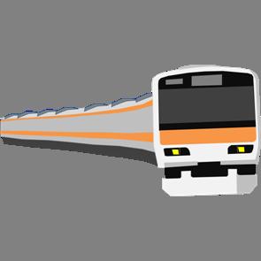 乗り物素材電車009