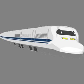 乗り物素材電車010