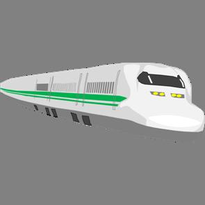 乗り物素材電車011