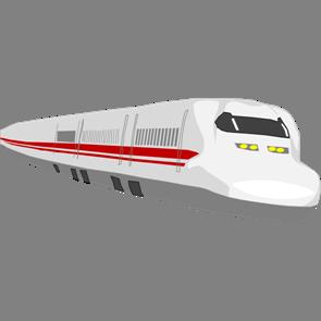 乗り物素材電車012