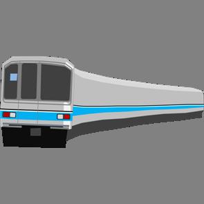 乗り物素材電車014