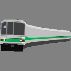 乗り物素材電車015
