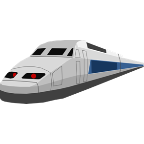 乗り物素材電車016