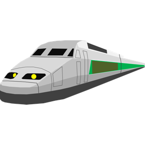 乗り物素材電車017
