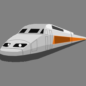 乗り物素材電車018