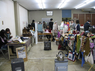 Re:Handmade shop 旅するマーケット 手作り雑貨 会場の様子