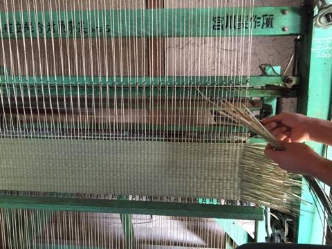 七島い織り機