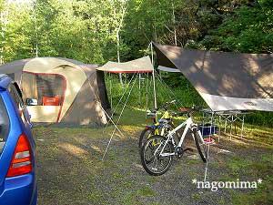 南乗鞍キャンプサイト