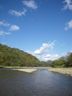 音別川の景色