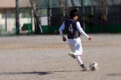 練習試合。