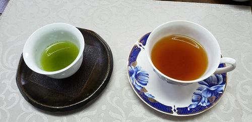 八女茶緑茶紅茶