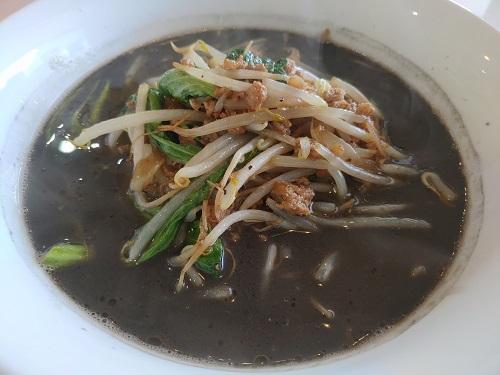 しん嘉黒ゴマタンタン麺
