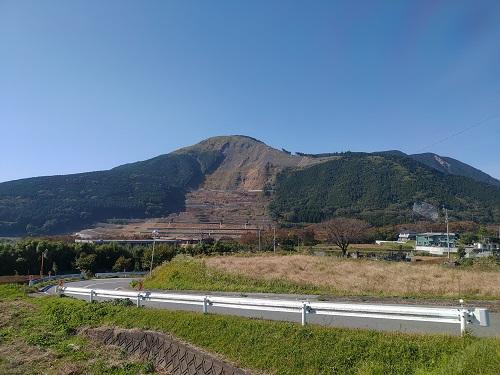 阿蘇山崩れ