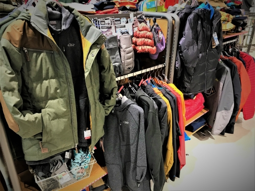 OUTDOOR RESARCH SALE 渋谷ヒカリエ