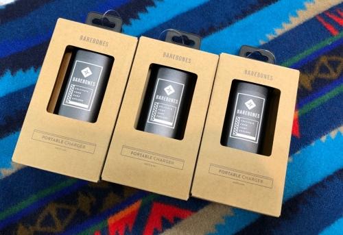 ベアボーンズリビング ポータブルチャージャー モバイルバッテリー