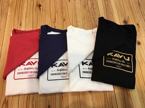 KAVU(カブー)エンジニアベースボールTシャツ 着用例