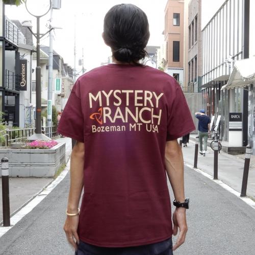 ミステリーランチのTシャツ