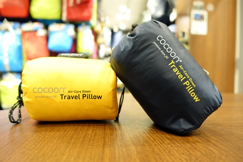 A&F COUNTRY COCOON Travel Pillow Air Down Narita Airport Chiba エイアンドエフ コクーン トラベル 旅行 成田 空港 国際空港 千葉