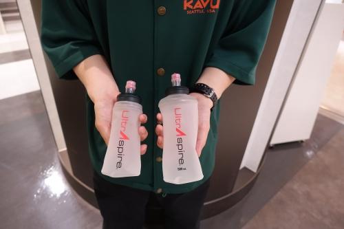 A&F COUNTRY エイアンドエフ 成田国際空港 UltrAspire ウルトラスパイア ソフト フラスク ボトル