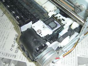 BJF500 クリーニングメカ部分2