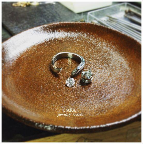 婚約指輪 名古屋市 オーダーメイド