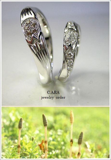 つくし 結婚指輪 名古屋市 オーダーメイド