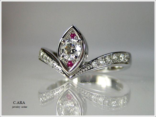 結婚指輪 名古屋市 オーダーメイド 鍛造