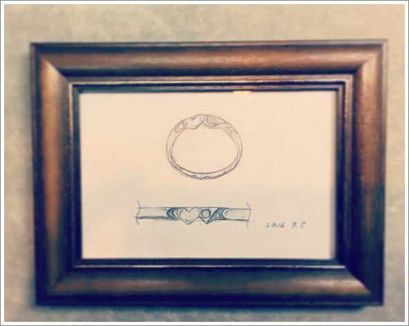 婚約指輪 名古屋市 オーダーメイド 鍛造
