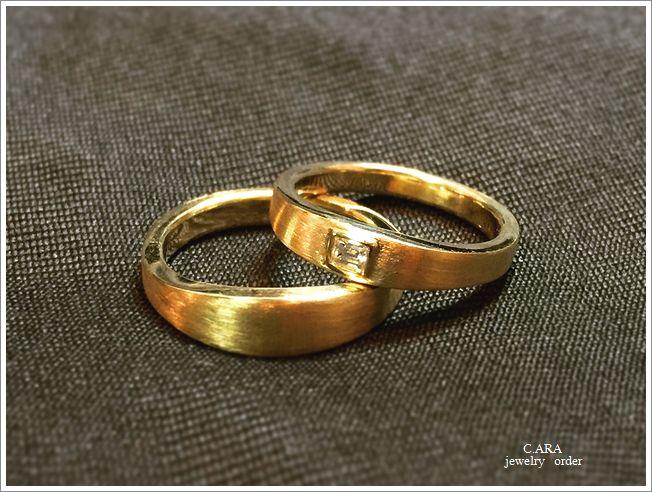 結婚指輪 オーダーメイド 洋彫り バケットダイヤ 岡崎市 日進市 名古屋市 豊田市