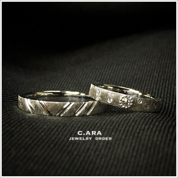 名古屋市 豊田市 婚約指輪 ローズカットダイヤ 手作り 結婚指輪 オーダーメイド