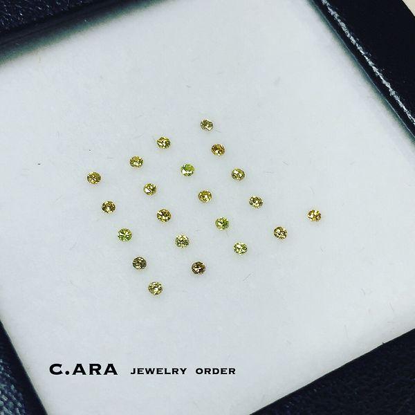 愛知県 結婚指輪 オーダーメイド オリジナル 名古屋市 カラーダイヤ イエローダイヤ