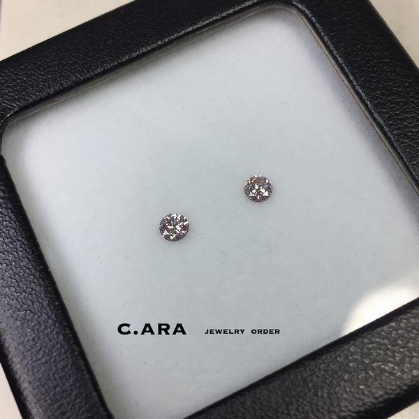 愛知県 結婚指輪 オーダーメイド オリジナル 名古屋市 カラーダイヤ ピンクダイヤ