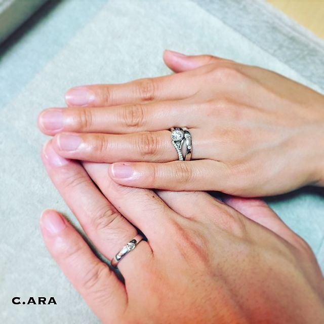 愛知県 結婚指輪 オーダーメイド 名古屋市 岡崎市 天白区 婚約指輪 オリジナル 手作り セットリング
