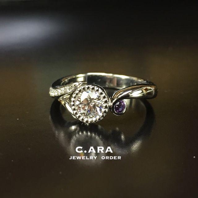 セットリング 愛知県 結婚指輪 オーダーメイド 名古屋市 岡崎市 天白区 婚約指輪 オリジナル 手作り