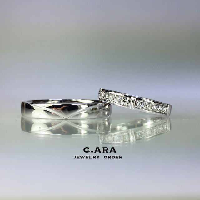 愛知県 結婚指輪 オーダーメイド 名古屋市 岡崎市 天白区 婚約指輪 オリジナル 手作り 0系新幹線