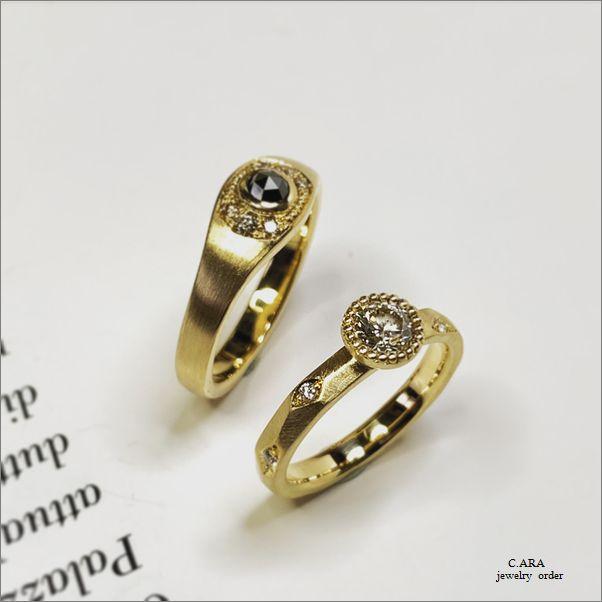 ミル打ち 愛知県 結婚指輪 オーダーメイド 名古屋市 岡崎市 天白区 婚約指輪 オリジナル 手作り