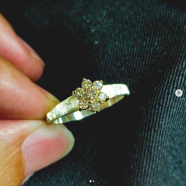 金買取 リフォーム 結婚指輪 オーダーメイド 名古屋市 豊田市 婚約指輪 ペンダントから 鍛造 手作り 岡崎市