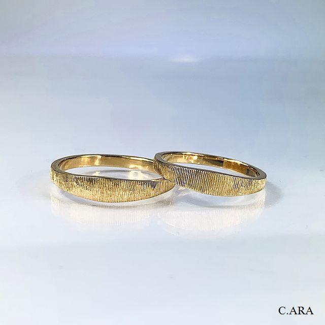 結婚指輪 オーダーメイド 洋彫り アンティーク オリジナル お値打ち 名古屋市 豊田市