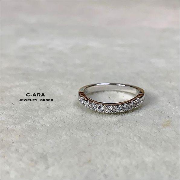 エタニティーリング 個性的 結婚指輪 オーダーメイド 名古屋市 豊田市