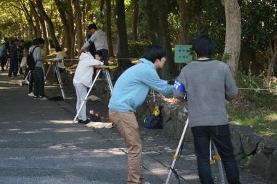 測量実習,中央工学校OSAKA