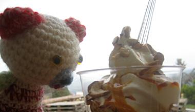 チェリーパイはナイスなアイス初体験♪